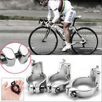 31.8//34.9mm Bike Cycling Lightweight Front Derailleur Braze-on Adapter Clamp XS