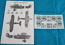 Classic Airframes 1/48 Ro.37 decals 468