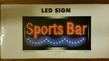 "19""X10"" Inches Sports Bar Beer Bar Pub Display Led Wall Light Sign Decor"