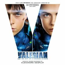 VALERIAN by Alexandre Desplat WHITE and BLUE 180gm VINYL NEW DLP Limited