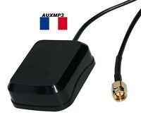Antenne GPS autoradio antenne prise SMA male autoradio GPS double din de france