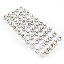 US Stock 50pcs MR52ZZ 2 x 5 x 2.5mm Miniature Ball Mini Bearings
