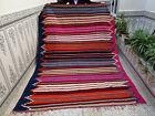 Handmade Moroccan Azilal Bebrer Wool Rug Beni ourain Tribal Carpet Boujaad Rug
