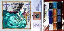 Mirabilia Cross Stitch Chart with Embellishment Pack ~ CASSIOPEIA #131 Sale