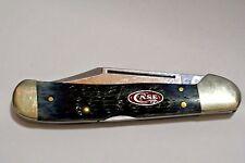 Case knife 7064 Bone Handle Blue 61549L SS
