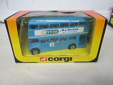 Corgi Double Decker Bus M.L. Electrics