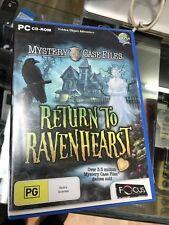 return to ravernhearst PC game