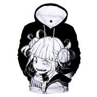 My Hero Academia Hoodies Himiko Toga Pullover Sweatshirt Hooded Jacket Coat Top