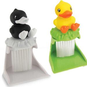B.Duck Keyboard Bürste Kehrgarnitur f Schreibtisch Ente Bürste Tischbesen