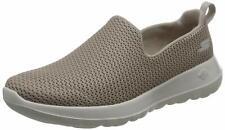 NWT SKECHERS Women's Gowalk 4 Joy Flats Slip On Comfort Shoes Taupe Khaki US 8.5