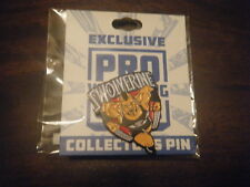 Brian Cage Lapel Pin Pro Wrestling Crate Exclusive Swolverine TNA Impact