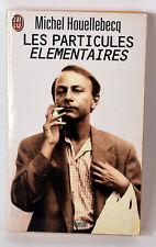 1998 French Book Les Particules Elementaires Michel Houellebecq