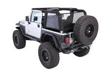 Jeep Wrangler TJ Cloak Extended Mesh Rear And Sides 1997-2006 Black 95601