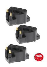 NGK set of 3 Ignition Coils Holden COMMODORE VP VR VS VT VU VX VY V6