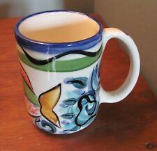 Vicki Carroll Splish Splash  Mug Fish  Signed Dated '94