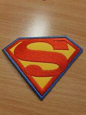 patch thermocollant brodé superman L8,5cm H6,5cm