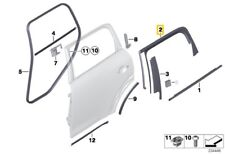 MINI COUNTRYMAN R60 WINDOW GUIDE LEFT REAR DOOR copy