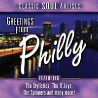 Greetings from Philly-Classic Soul Artists (2005, US) O'Jays, Harold Melv.. [CD]