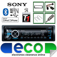 PEUGEOT 206 98-02 Sony CD mp3 USB Bluetooth Auto Stereo Volante Interfaccia