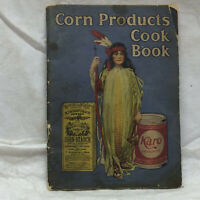 Vintage Advertising Recipe Cook Book Corn Starch Karo Corn Products
