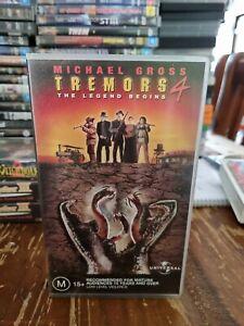 Tremors 4 - The Legend Begins VHS 2004