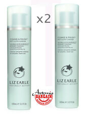 2x 100ml,Liz Earle Cleanse and Polish Cleanser Pump Action (200ml total)