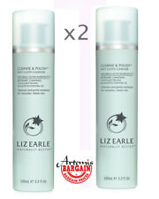 2x Liz Earle Cleanse & Polish Cleanser Pump Action 2 x 100ml, (200ml in total)