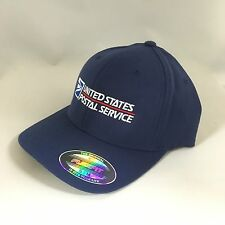 USPS Flexfit Hat Yupoong Wool Blend 6477 United States Postal Service Cap S/M
