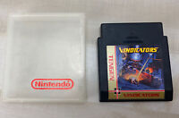 Vindicators NES Original Nintendo Game Cartridge In Hard Case Tested Working