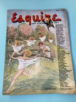 1946 May Esquire Magazine Howard Baer Cover Brian Aherne Dorothy Partington