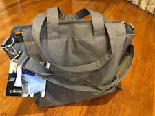 Dr. Brown's Breast Pump Bag Carryall New With Tags*Gray Tote*