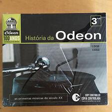 """Rare Brazilian box set - V/A """"Historia da Odeon: 1902-1952"""" MINT - SEALED"""