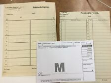 {BJSTAMPS}  ZEPPELIN 1930 passenger list and cabin occupancy unused original