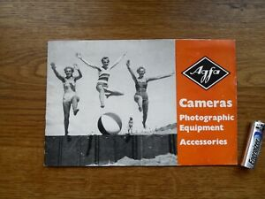 AGFA CAMERAS, Equipment and Accessories Sales Booklet 1956 !!!