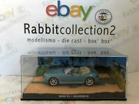"DIE CAST "" BMW Z3 GOLDENEYE "" 007 JAMES BOND SCALA 1/43"
