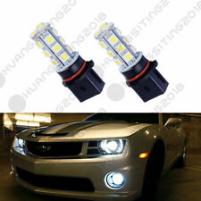2PCS Xenon White 18-SMD P13W LED Bulbs For Fog Light or Driving DRL Lamps