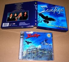 RARE SAVATAGE POETS AND MADMEN CD BOX SET 2001 MADE IN KOREA STEAMHAMMER RECORDS