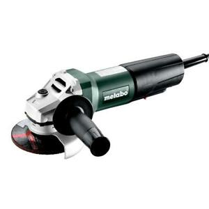 """Metabo 603612420 WP 1100-125 4.5/5"""" Corded Angle Grinder w/Non-Locking Paddle"""