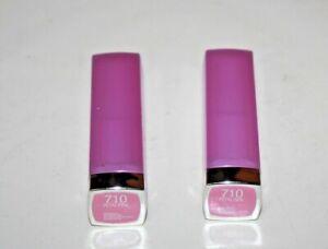Maybelline Color Sensational Lipstick #710 Petal Pink Lot Of 2 New,SEALED