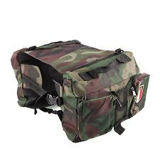 Portable Dog Pet Saddle Bag Backpack Back Pack Camping Hiking Outdoor Travel