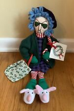 Hallmark Shoebox 16� Plush Maxine Holiday Christmas Doll Nwt 👀