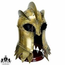 Kingsguard Helm with Stand Medieval Knight Collectibles Armor Helmet Reenactment
