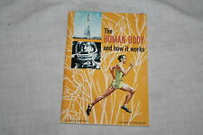 The Human Body and How it Works Science Service 1971 Paperback