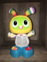 Fisher Price Bright Beat Dance & Move BeatBo Animated Light Up Robot Pre-owned
