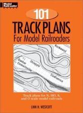 Model Railroader Self Help Books 101 Track Plans for Model Trains Kalmbach