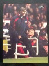 Imagen de fútbol de A4/cartel Arsene Wenger (Arsenal, perdiendo su Cool!!!)