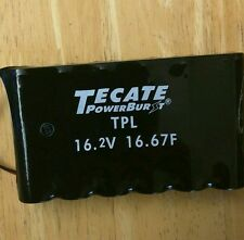 NEW Tecate 16.67 Farad 16.2V Super Cap Car Audio Engine battery Buster/ Solar