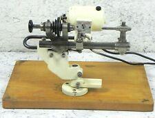 Tornio da orologiaio DREMOFIX vintage elettrico a pedale mandrino per orologio