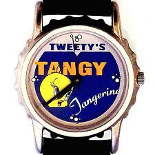 Tweety Bird, Soda Bottle Cap Watch Case, Fossil Warner Bros Collection, Rare $89