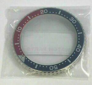 Seiko Rotating Watch Bezel f/ SKX007 SKX009 SKX011 SKX173 SKX175 SKXA35 Blue/Red